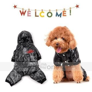 Fashion Cool Pet Dog Doggie Apparel Hoody Jacket Puppy Sports Jumpsuit