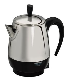Farberware FCP240 2 4 Cup Percolator Stainless Steel New