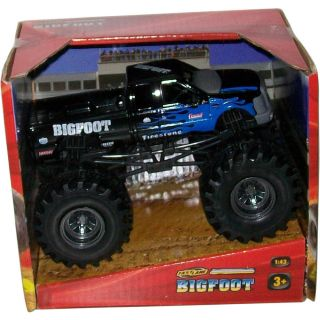 Fast Lane 1 43 Scale Bigfoot Monster Truck Black White