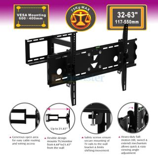 Tilt Swivel LCD LED Plasma TV Wall Mount Bracket for LG 32 35 40 42 45
