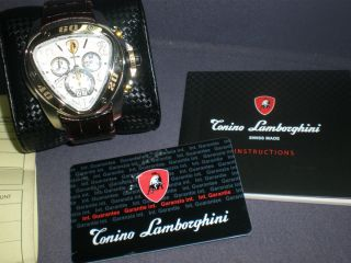 Authentic Tonino Lamborghini Special Edition Watch Spyder 200 2T