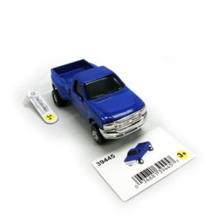 New Ertl 1 64 Blue Ford F350 Dually Pickup Truck