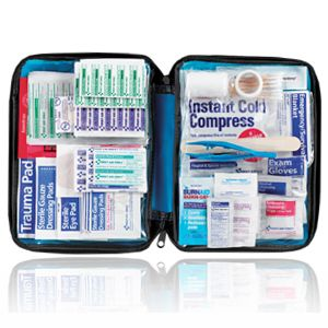 Hot Now 200pcs First Aid Only® Emergency First Aid Kit Blue Soft Bag