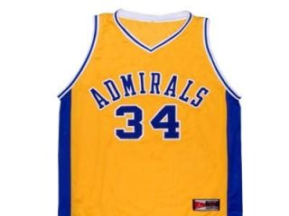 Kevin Garnett Farragut Admirals High School Jersey Yellow New Any Size