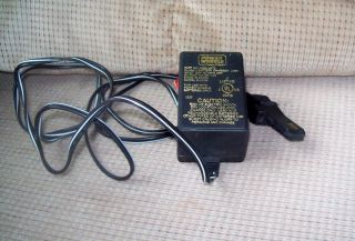 Fisher Price Power Wheels Battery Charger 00801 0972 12 Volt