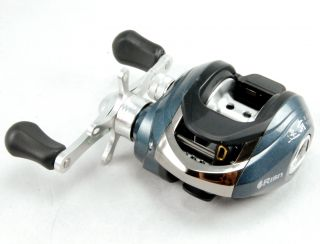 NEW 5BB Black Low Profile Baitcaster Lure Fishing Reel Right Hand