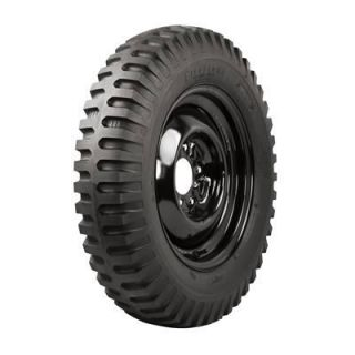 Coker Firestone Military Tire 600 16 Blackwall 643529 Set of 4