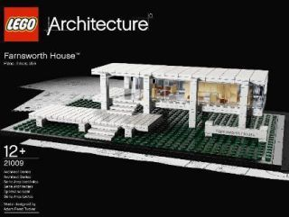 Farnsworth House Lego Architecture New in Box Construction Toy