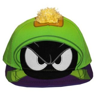 The Martian Looney Tunes Face Adult Adjustable Flat Bill Hat Cap