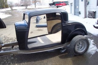 1932 Ford 3 Window Coupe Fiberglass Body 32 Hot Rod Street Rod Rat Rod
