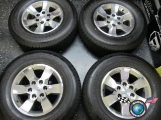 10 12 Toyota 4Runner Factory 17 Wheels Tires OEM Rims Tundra Tacoma FJ