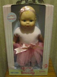 Lovely 14 Your First Baby Soft Body Doll by Madame Alexander