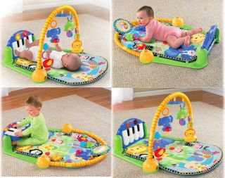 Fisher Price Discover n Grow Kick & Play Piano Musical Gym Brand New