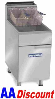 lb Gas Deep Fryer IFS 50 Stainless Steel Tube Fired Natural LP