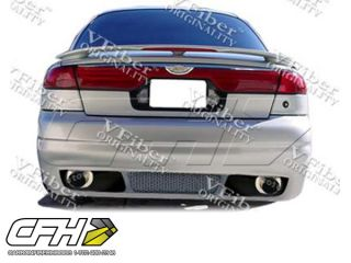 FRP Ford Contour 98 00 4DR FRP RS 1 PC Rear Bumper Kit Auto Body New