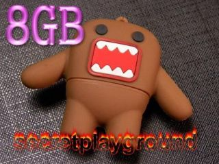 8g 8GB Domo Kun Figure USB Flash Drive Memory Stick