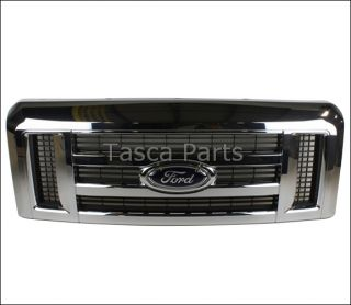 New Chrome Front Grille 2008 2012 Ford Econoline 9C2Z 8200 AA