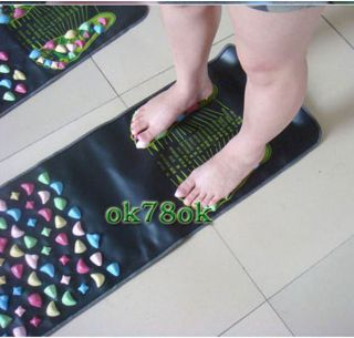 Foot Massage Mat Walk Cobblestone Pad Acupoint Massager