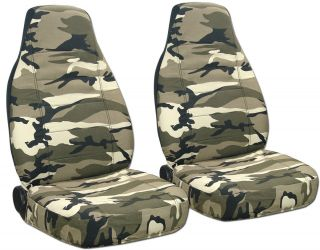 Ford Ranger Car Seat Covers 60 40 Hi Front Camo Tan Beige