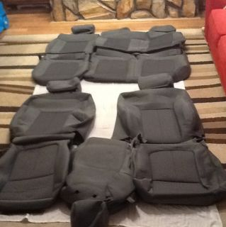 2012 Ford F 150 Super Crew XLT Seat Covers