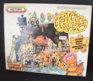 1983 Fraggle Rock Wooden Jigsaw Puzzle 28