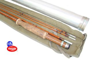 fine and scarce FOLSOM split bamboo fly rod (made by Heddon);