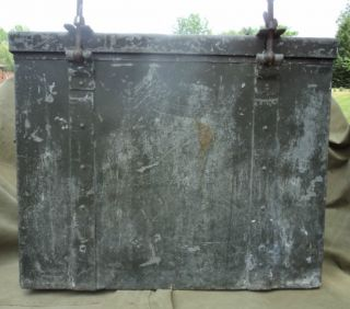 WWII Era German Metal Food Container Pre War Dated 1935