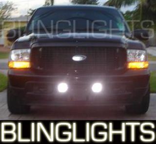 2000 2005 Ford Excursion Super Duty Fog Lamps F250 F350 00 01 02 03 04