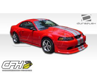 FRP 99 04 Ford Mustang Cobra R Front Bumper Kit Auto Body 1pc New Part