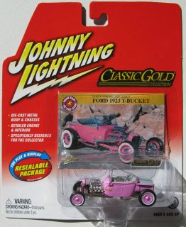 Johnny Lightning R25 Classic Gold 1923 Ford T Bucket RR