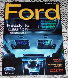 NEW 2009 FORD FLEX MUSTANG GT500KR LITERATURE BROCHURE MY FORD