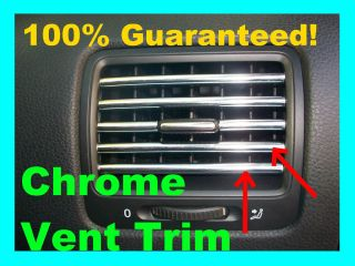 FORD Taurus Chrome AC Vent Trim Dash Dress up Molding Interior Trim