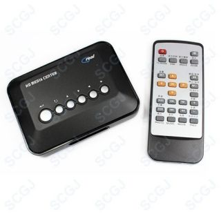 TV Media Movie RMVB MPEG Center Player SD SDHC USB Flash Drive Reader