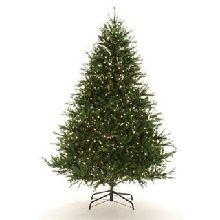 Natural Frasier Fir 9 Pre Lit Artificial Christmas Tree with Colored
