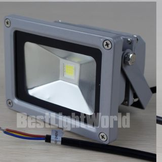 Power 10W LED Waterpoof Security Garden Flood Light Fixture