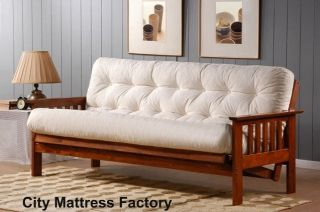 New Replacement Futon Mattress Solid Cover 10 Layer Factory Direct