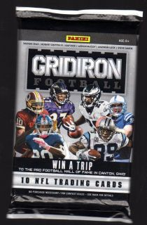 2012 Panini Gridiron Gear Football HOT PACK Autograph AUTO Hot Pack