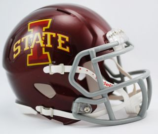 IOWA STATE CYCLONES NCAA Revolution Speed Mini Football Helmet