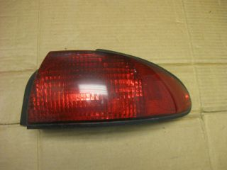Ford Contour Tail Light Passenger Right Side 95 97