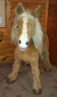 FurReal Fur Real Friends Interactive Electronic Butterscotch pony