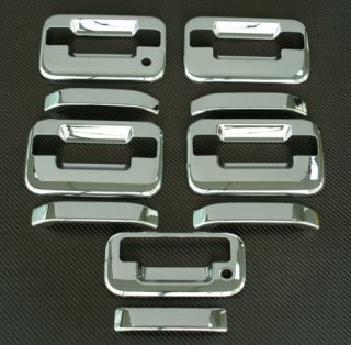 2004 2011 Ford F150 Chrome Door Tailgate Handle Cover D