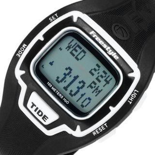FREESTYLE Gromatide Sport Mens Womens Digital Watch Black Rubber Band