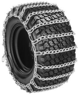23x8 50 12 2 Link Garden Tractor Snow Tire Chains Size 23 8 50 12