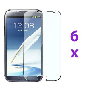 Clear Screen Protector Skin Cover Guard for Samsung Galaxy Note 2 II