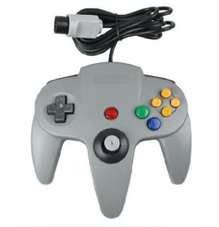 New Grey Game Controller Gamepad Joystick Game System for Nintendo 64