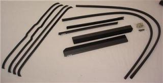 1942 1946 1947 Ford Pickup Truck Window Channel Kit