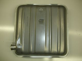1955 1956 Chevrolet New Replacement Gas Tank Steel with Round Corners