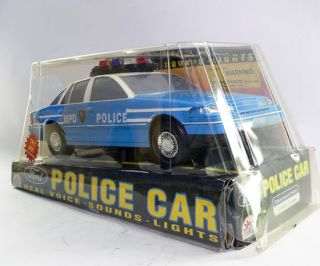 Vintage Funrise State Ford Metro City Police Department MPD Police Car
