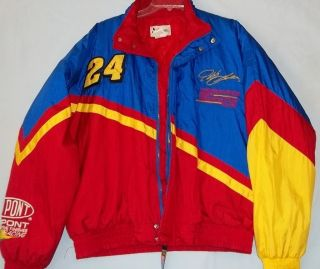 Jeff Gordon NASCAR 1998 Winston Cup Champion Chase Authentics Jacket