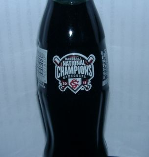 2012 South Carolina Gamecocks Baseball 2011 Champions Coca Cola Coke